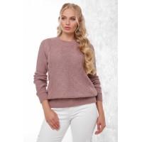 Жіночий модний в'язаний светр фрез